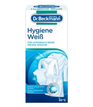 Higieninis audinių baliklis DR. BECKMANN HYGIENE WEIB, 500 g