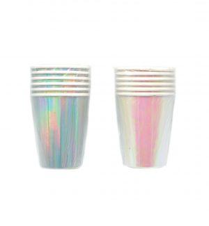 Popieriniai puodeliai, 6 vnt.