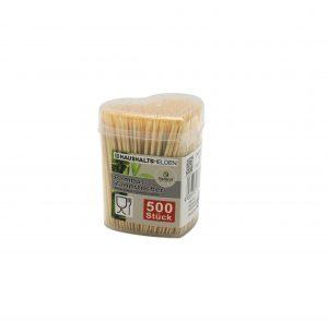 Bambukiniai dantų krapštukai, 500 vnt.