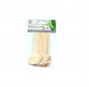 Vienkartiniai bambukiniai šaukšteliai REICHSTEIN & KAUFMANN, 12 vnt.