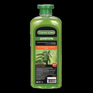 Plaukų šampūnas RODNYJE TRAVY KRAPIVA, 500 g