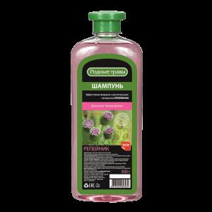 Plaukų šampūnas RODNYJE TRAVY REPEJNIK, 500 g