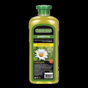 Plaukų šampūnas RODNYJE TRAVY ROMAŠKA, 500 g