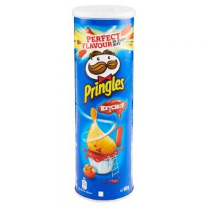 Bulvių traškučiaiPRINGLES Ketchup, 165 g