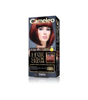 Ilgalaikiai kreminiai plaukų dažai su argano aliejumi ir kreatinu CAMELEO Nr. 66.56