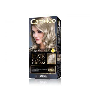 Ilgalaikiai kreminiai plaukų dažai su argano aliejumi ir kreatinu CAMELEO Nr. 8.1