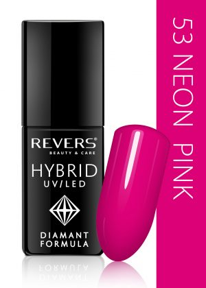 Hibridinis nagų lakas REVERS COSMETICS HYBRID UV/LED Nr. 53, 6 ml