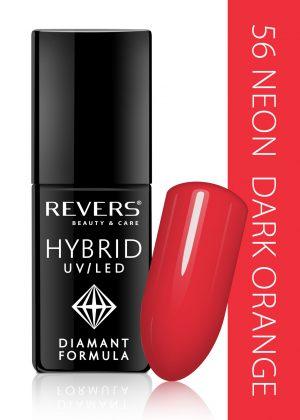 Hibridinis nagų lakas REVERS COSMETICS HYBRID UV/LED Nr. 56, 6 ml