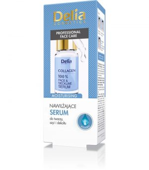 Veido serumas DELIA COSMETICS COLLAGEN, 10 ml