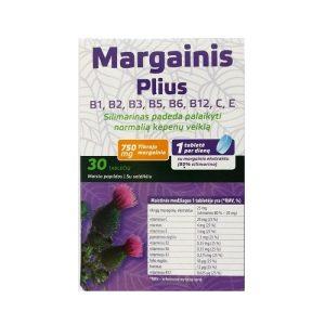 Maisto papildas MARGAINIS PLIUS, 30 tab.