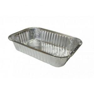 Aliuminio folijos indeliai, 500 ml, 50 vnt.