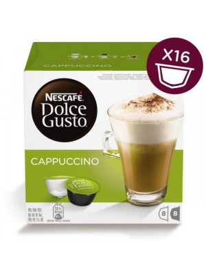 Kavos kapsulės NESCAFE DOLCE GUSTO CAPPUCCINO, 8+8 kaps.