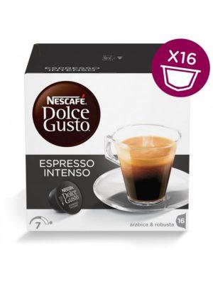 Kavos kapsulės NESCAFE DOLCE GUSTO INTENSO, 16 kaps.