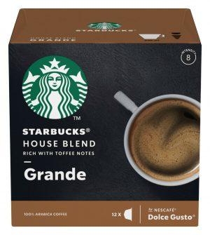 Kavos kapsulės STARBUCKS GRANDE, 12 kaps.