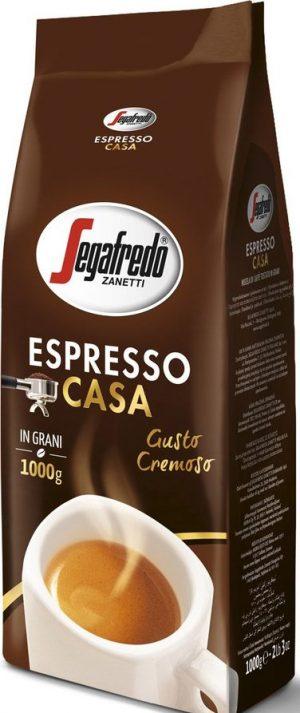 Kavos pupelės SEGAFREDO ESPRESSO CASA GUSTO CREMOSO, 1000 g