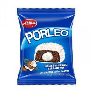 Šokoladinis pyragėlis su kokosais ALDIVA PORLEO, 1 vnt.