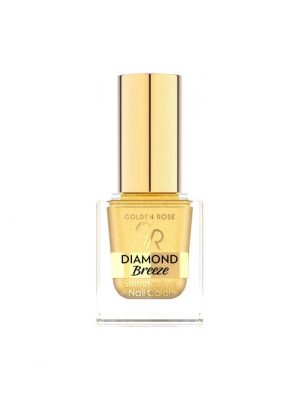 Blizgantis nagų lakas GOLDEN ROSE DIAMOND BREEZE, 10,5 ml, Nr.01
