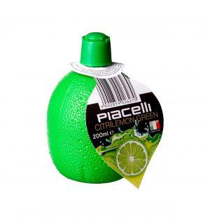 Žaliųjų citrinų sulčių pagardas PIACELLI, 200 ml