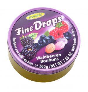 Saldainiai WOOGIE WALDBEEREN, 200 g