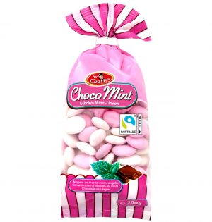 Šokolado-mėtų skonio saldainiai SIR CHARLES, 200 g