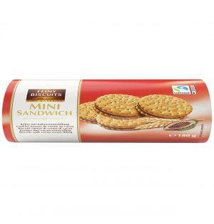 Sausainiai su kakavos kremo įdaru FEINY BISCUITS, 180 g