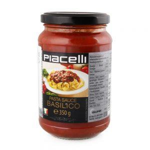 Makaronų padažas PIACELLI BASILICO, 350 g