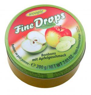 Obuolių skonio ledinukai WOOGIE FINE DROPS, 200 g