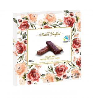 Šokoladinių saldainių rinkinys MAITRE TRUFFOUT GRAZIOSO PREMIUM SELECTION, 200 g