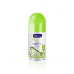 Moteriškas rutulinis antiperspirantas INELIA FRESH COMFORT, 50 ml