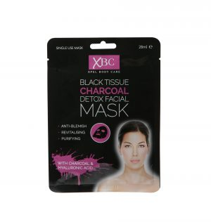 Detoksikuojanti veido kaukė XBC CHARCOAL, 28 ml