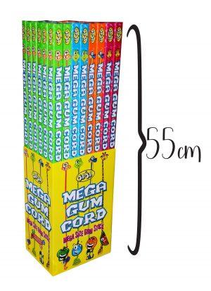 Kramtomoji guma JOJO MEGA GUM CORD, 40 g