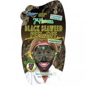 Veido kaukė MONTAGNE JEUNESSE BLACK SEAWEED, 10 ml