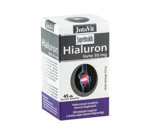Maisto papildas HIALURONO RŪGŠTIS,  45 tabl.x 50 mg