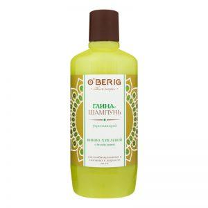 Stiprinamasis plaukų molis-šampūnas O'BERIG, 500 ml