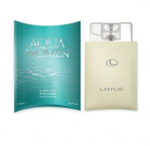 Mot. parfumuotas vanduo LOTUS AQUA, 20 ml