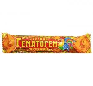 Maisto papildai HEMATOGENAS RUSSKIJ DETSKIJ, 40 g
