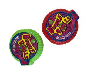 Kramtomoji guma BUBBLE ROLLS 1vnt., 18 g.