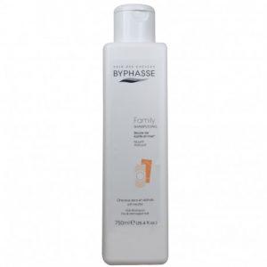 Visų tipų plaukų šampūnas BYPHASSE FAMILY, 750 ml