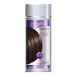 Dažomasis plaukų balzamas TONIKA, Nr. 3.01, 150 ml