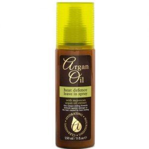 Nuo karščio saugantis plaukų purškiklis ARGAN OIL, 150 ml