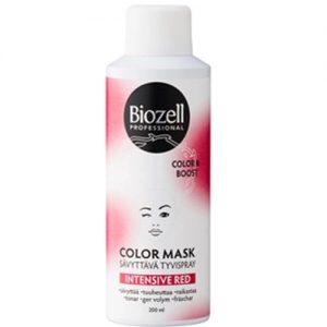 Raudonos spalvos plaukų lakas BIOZELL PROFESSIONAL COLOR MASK, 200 ml