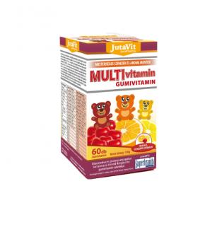 Maisto papildas JUTAVIT MULTIVITAMIN, 60 guminukų