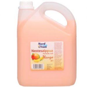 Skystasis muilas mangų aromato NORD CLEAN, 3 l