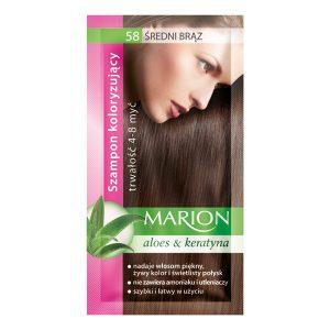 Dažomasis plaukų šampūnas MARION Nr.58, 40 ml