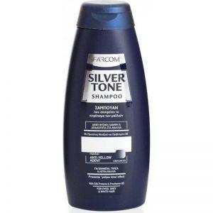 Pilkinamasis plaukų šampūnas FARCOM SILVER TONE, 300 ml
