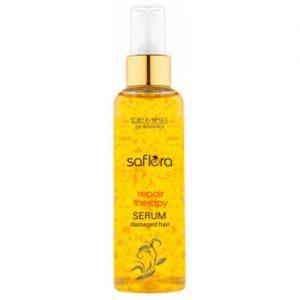 Pažeistų plaukų serumas SAFLORA REPAIR THERAPY, 100 ml
