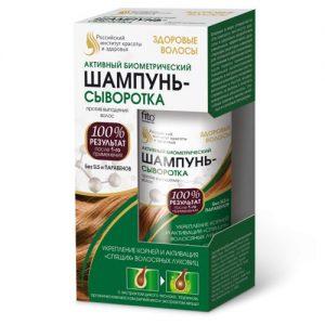 Šampūnas-serumas nuo plaukų slinkimo ZDOROVYJE VOLOSY, 150 ml