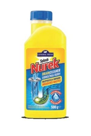 Kanalizacijos vamzdžių valiklis NUREK SPLASH, 500 g