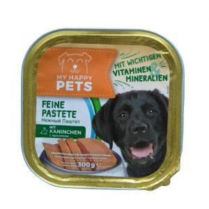 Šunų paštetas su triušiena MY HAPPY PET'S, 300 g