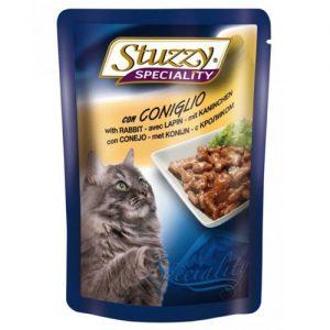 Konservuotas kačių ėdalas su triušiena STUZZY SPECIALITY, 100 g